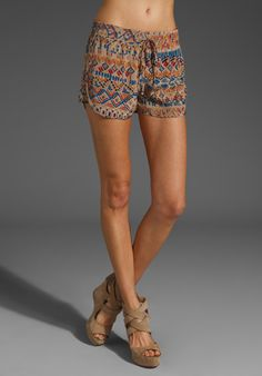 rad silk shorts