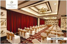Luxurious facilities that make you look forward to business meetings. Visit www.goldenpalmshotel.com for more details. #MondayMeetings