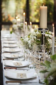 Simply Gorgeous Dinner Party Tablescape