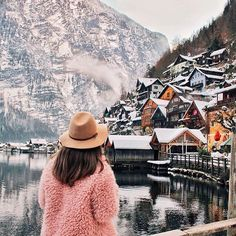 Hallstat, Austria BT: sweater & hat for travel!