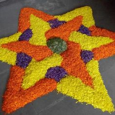 A star in flowers !