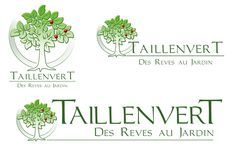 Creation Logo pour Taillenvert - Créations de Jardins © Toegha Prod/Corryvreckan 2013-2014