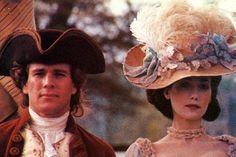 Barry Lyndon (1975) Ryan O'Neil as Barry Lyndon andMarissa Berenson as Lady Honoria Lyndon. Costume Design by Milena Canonero and Ulla-Britt Søderlund