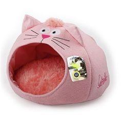ALL4PAW Catzilla Kućica za mace Meow ružičasta 46 x 46 x 37 cm