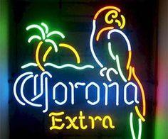 Corona neon light
