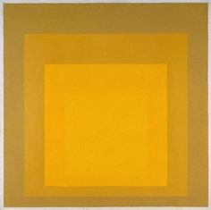 Josef Albers 'Study for Homage to the Square: Departing in Yellow', 1964 © The Joseph and Annie Albers Foundation/VG Bild-Kunst, Bonn and DACS, London, 2016