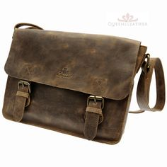 c870df9aee From Rowallan DENVER range Tanned Buffalo Leather Messenger Shoulder Bags  twin buckle shoulder Cognac Tobacco Details Colours available Cognac  Tobacco shown ...