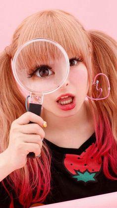 きゃりーぱみゅぱみゅ Kyary Pamyu Pamyu, Gyaru, Art Inspo, Harajuku, Ariana Grande, Beauty, Pose, Layout, Concept