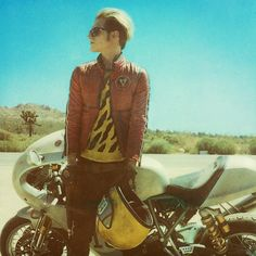 Mikey Way by Neil Krug