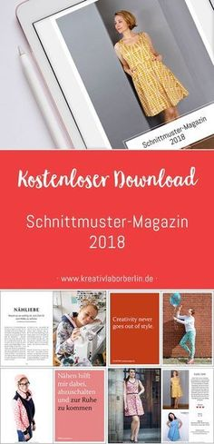 Das neue Schnittmuster-Magazin ist da!