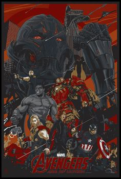 The Avengers - Age of Ultron by Vance Kelly