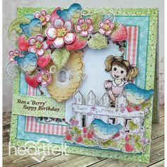 Heartfelt Creations - Birthday Birds And Berries Project