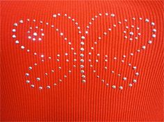 Huzzar Design 70s style Red ribbed vest with by HuzzarHuzzar, £10.99