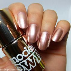 Nails By Kizzy: Models Own Colour Chrome Collection - Rose