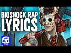 "Bioshock Rap LYRIC VIDEO by JT Machinima - ""Rapture Rising"""
