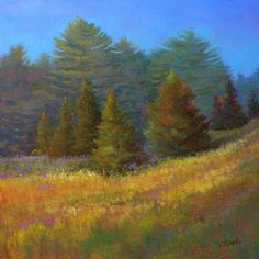 """When Spirits Come Out"" -- pastel by artist Paula Ann Ford"