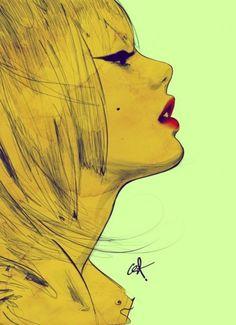 #girl #art #illustration