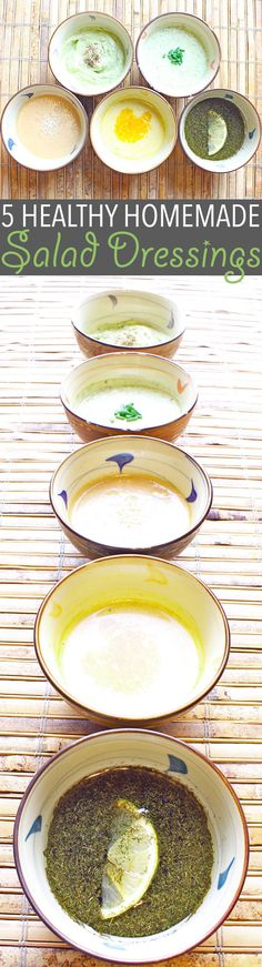 Healthy homemade salad dressing takes a bit of extra work, but the benefits are so worth it. Here are five of my favourites! Vegan Recipes Easy, Vegetarian Recipes, Cooking Recipes, Delicious Recipes, Extra Work, Kinds Of Salad, Holiday Recipes, Christmas Recipes, Salad Recipes