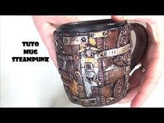 Steampunk, Wine Glass, Glass Art, Clay Mugs, Clay Dragon, Clay Tutorials, Sculpting, Polymer Clay, Creations