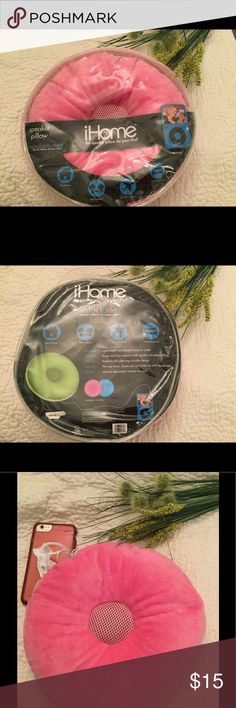 iHOME SPEAKER PILLOW FOR YOUR IPHONE/IPOD