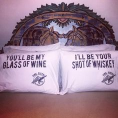 Adorable pillowcase duo for you and your sweetheart!