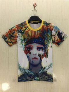 summer 3d t-shirt Women/Men Short Sleeve camiseta Tree Print 3 D Tees Tops fashion casula T Shirts clothes