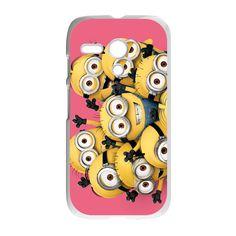 Despicable Me Minions Pink Case for Motorola Moto G