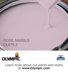 ROSE MARBLE OL679.3 is a part of the purples collection by Olympic® Paint.