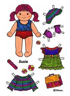 Karen`s Paper Dolls: Susie
