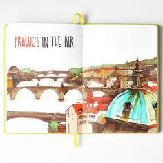 Prague_in_air   by Anna Rastorgueva