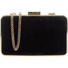 Michael Michael Kors Handbag ($215) ❤ liked on Polyvore featuring bags, handbags, clutches, purses, bolsas, accessories, black, michael michael kors handbags, pouch purse and handbag pouch