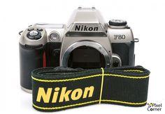 Nikon F80 35mm film SLR camera body silver 2586649