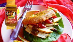 Surinaams eten – Bara (bara gevuld met kip masala)
