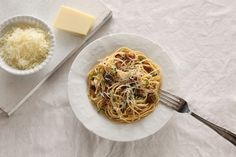 Σπαγγέτι με μελιτζάνες και βασιλικό (Φωτογραφία: Άκης Ορφανίδης) Spaghetti, Ethnic Recipes, Food, Essen, Meals, Yemek, Noodle, Eten