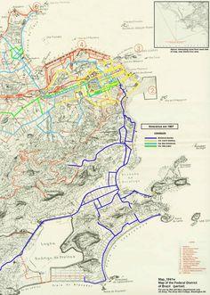 Mapa de transporte Bonde Trilhos - Rio de Janeiro                                                                                                                                                                                 Mais