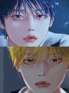 Kpop Drawings, Cute Drawings, Aesthetic Drawing, Aesthetic Art, Fanarts Anime, Kpop Fanart, Anime Art Girl, K Pop, Webtoon