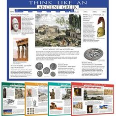 Think Like…Ancient Civilizations Posters Set