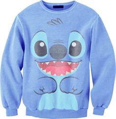 Sweater lilo stitch sweatshirt hoodie lilo and stitch disney swimwear swag shirt clothes disney sweater blue