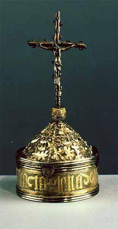 EspagneFin XVe-début du XVIe siècle Argent doré