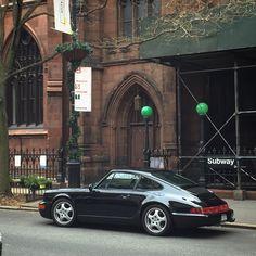 Beautiful Porsche in black #SportsCar #Speed #Power #Performance #Cars #CarShowSafari