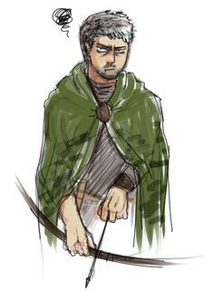 Halt O'Carrick | Ranger's Apprentice | halt pls by zo-pai.deviantart.com on @deviantART
