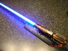 "Jedi Yar-Nala's ""Legacy Lightsaber"" based on Amptrooper's Steampunk Luke Heirloom Lightsaber. Hands-down the best working (well, it won't slice a hand off, but it lights up and makes the obligatory lightsaber sounds) steampunk lightsaber I've seen so far."