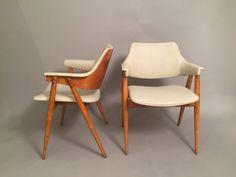 $1200 Pair of Midcentury Scandinavian lounge chairs