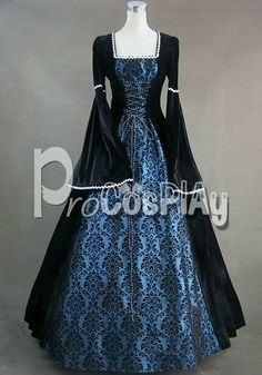 Best Victorian Gothic Ball Gown Lolita Dress Cosplay by procosplay, $95.00