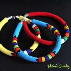 A new necklace in my African collection! Other colors will follow :)
