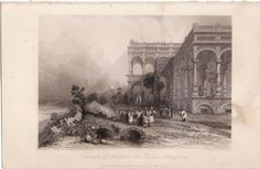 A scarce antique engraving from 1839
