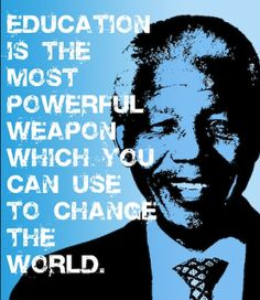 """""""Education is the most powerful weapon which you can use to change the world""""  #CertificationCamps #education #microsoftcertifications"""