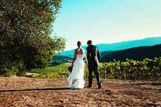 Vineyard Wedding Photo Idea