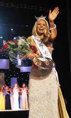 Ali Rogers Crowned Miss South Carolina 2012