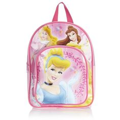 Disney Princess Happily Ever After Backpack ($14) ❤ liked on Polyvore featuring bags and toys